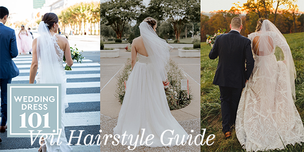 How to Wear a Veil with any Hair Style for your Wedding.