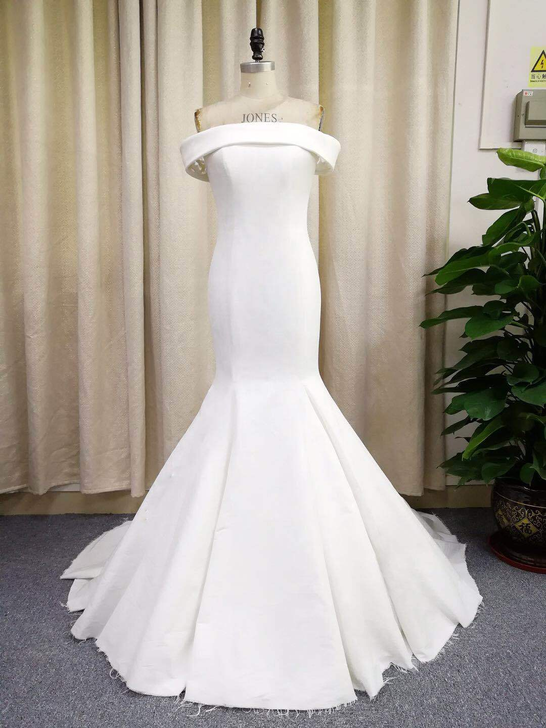 Wedding Dress Production in front