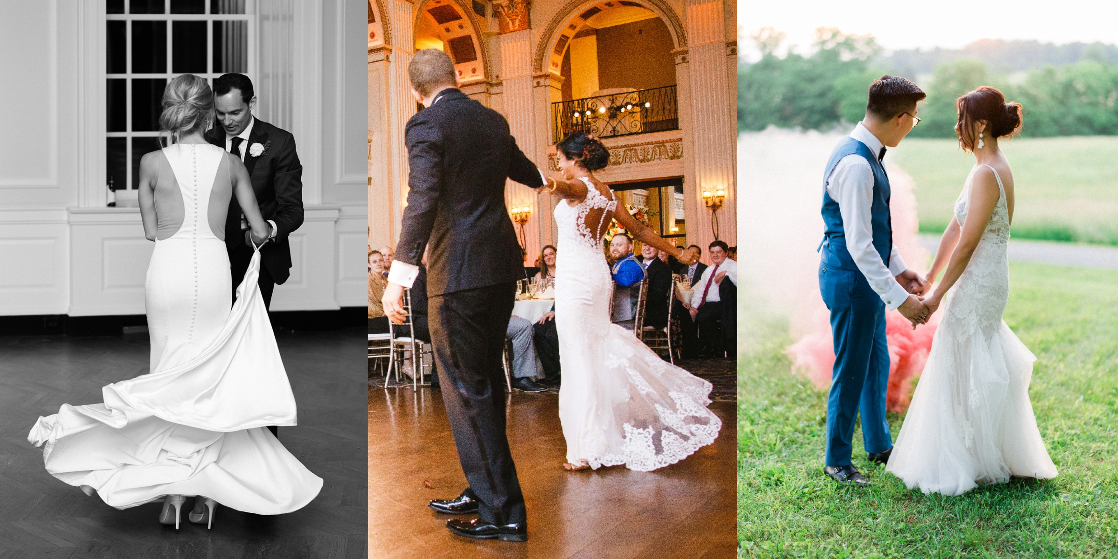 Tips for Adding a Bustle to Your Wedding Dress.