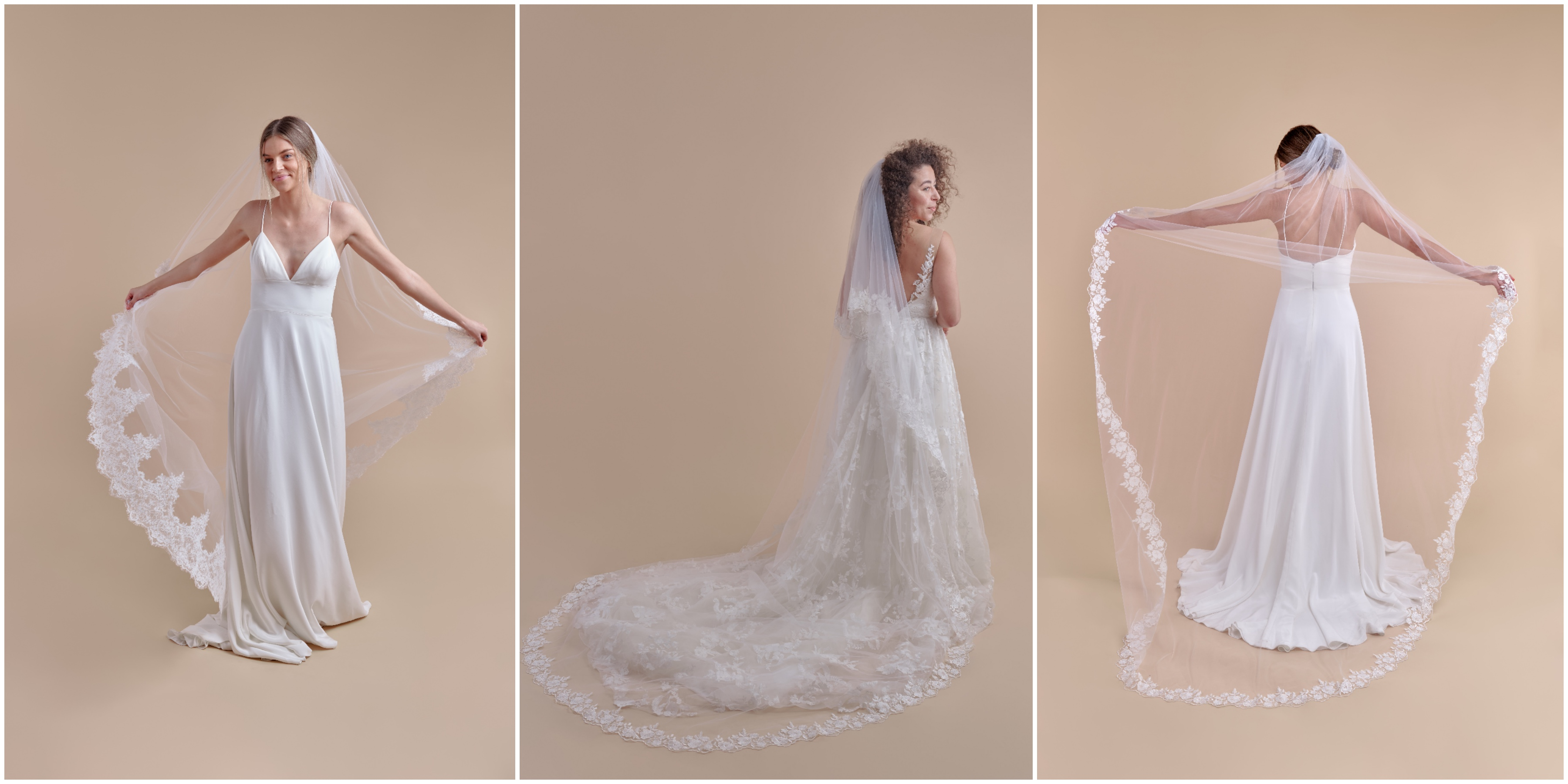 anomalie online wedding dress company launches semi-custom veil line