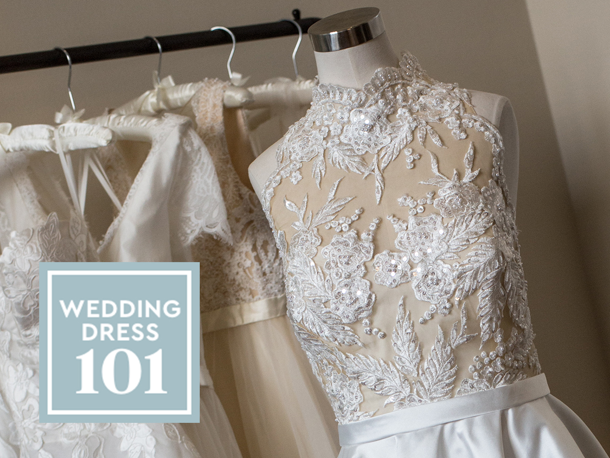 Wedding Dress 101: Your quick guide to key (and often confusing) wedding dress terminology.