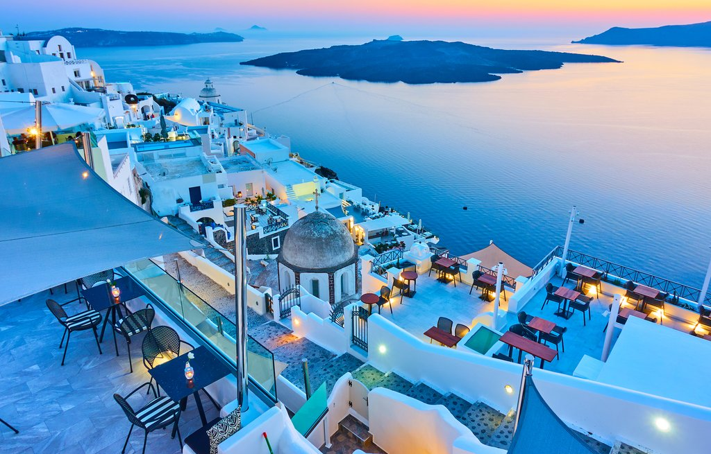 Greece is a great spot for brides