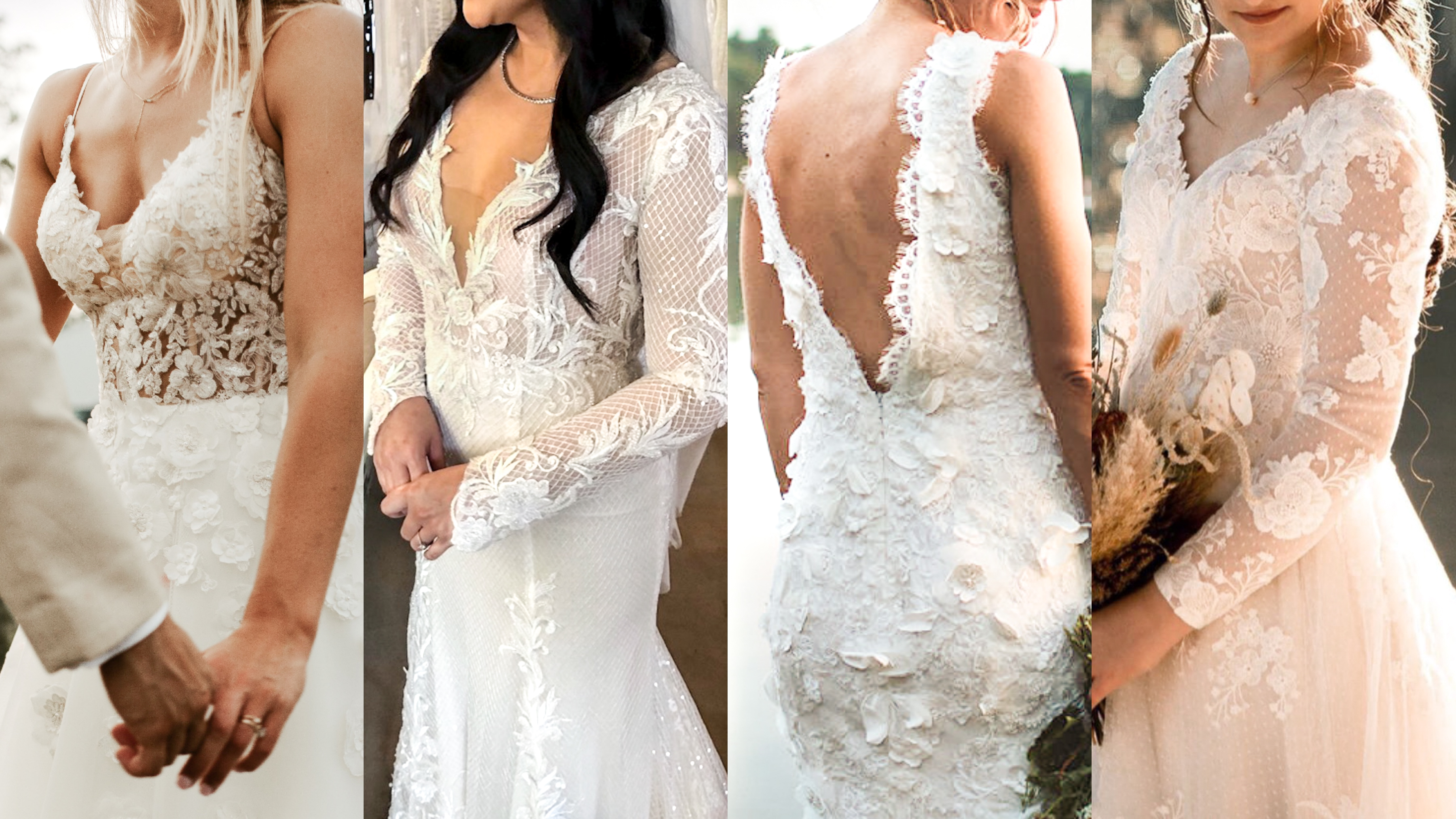 Lace Combinations We Love.