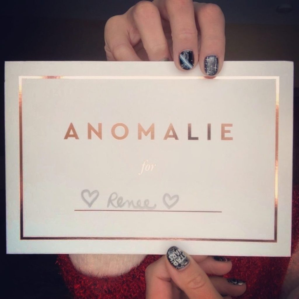 Name card from us | DressAnomalie